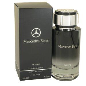 Mercedes Benz Intense Eau de Toilette Spray for Men Deep Woody Scent