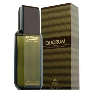 Quorum By Puig For Men. Eau De Toilette Spray