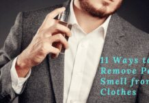 get smells out from clothes